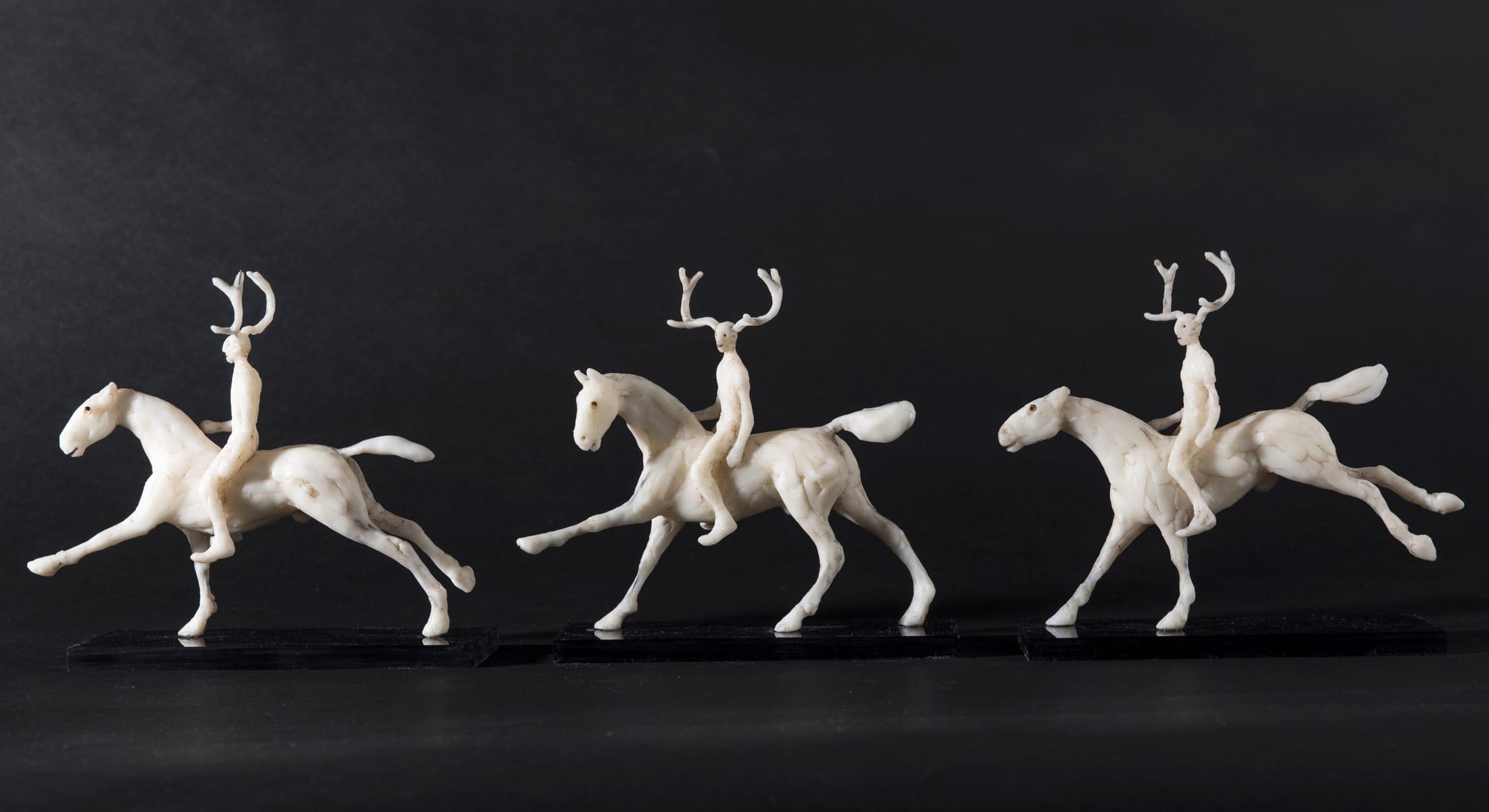 Nature Spirit Rider sculpture