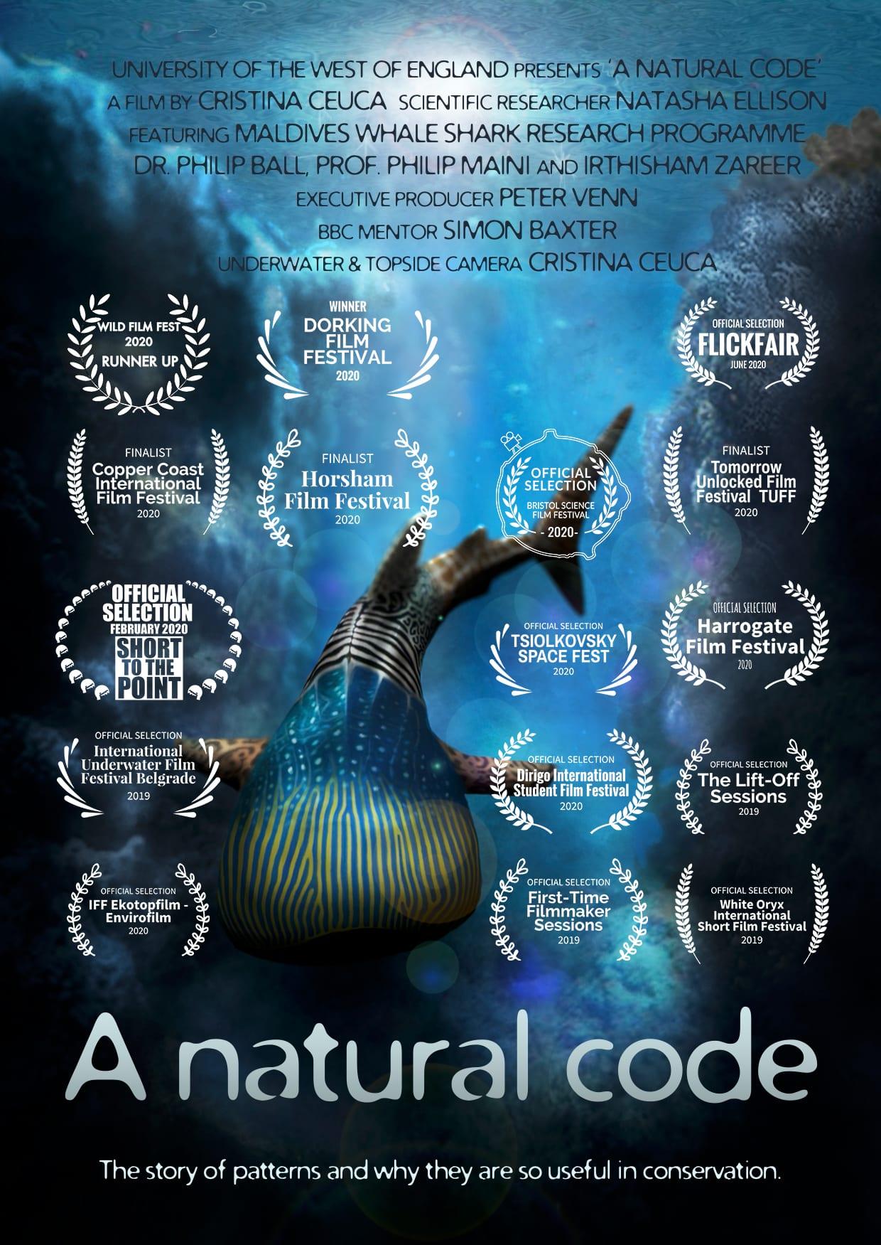 A natural code film poster