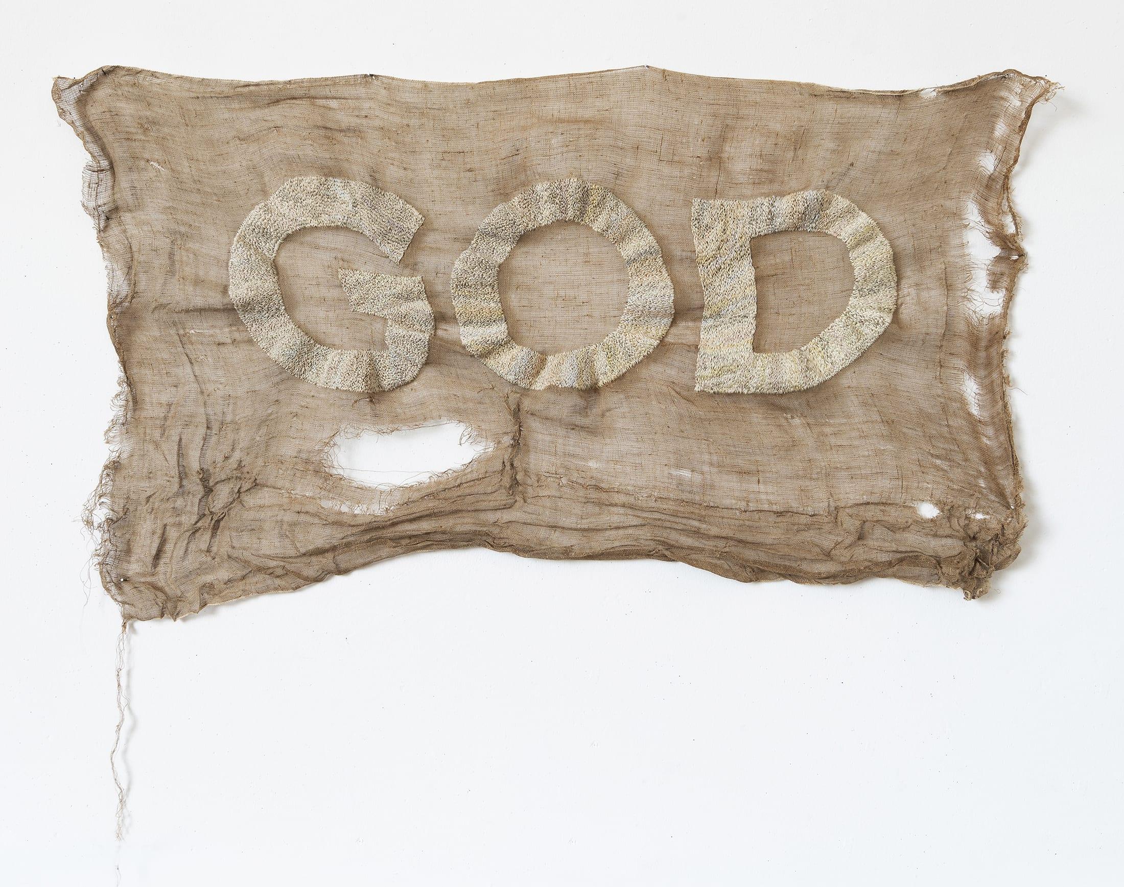 STATE silk, hessian 2019 110 x 65 cm