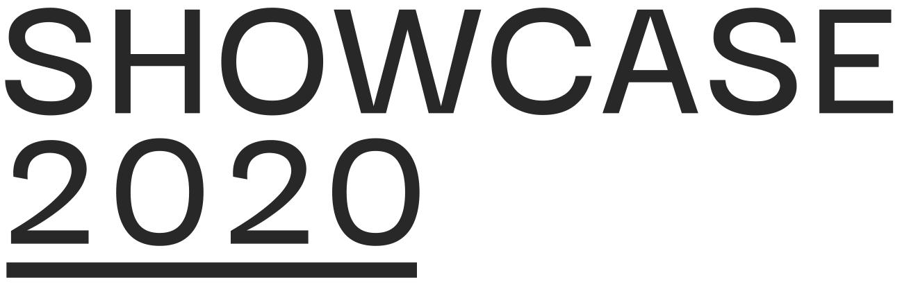 Showcase 2020 - Title - Graphic
