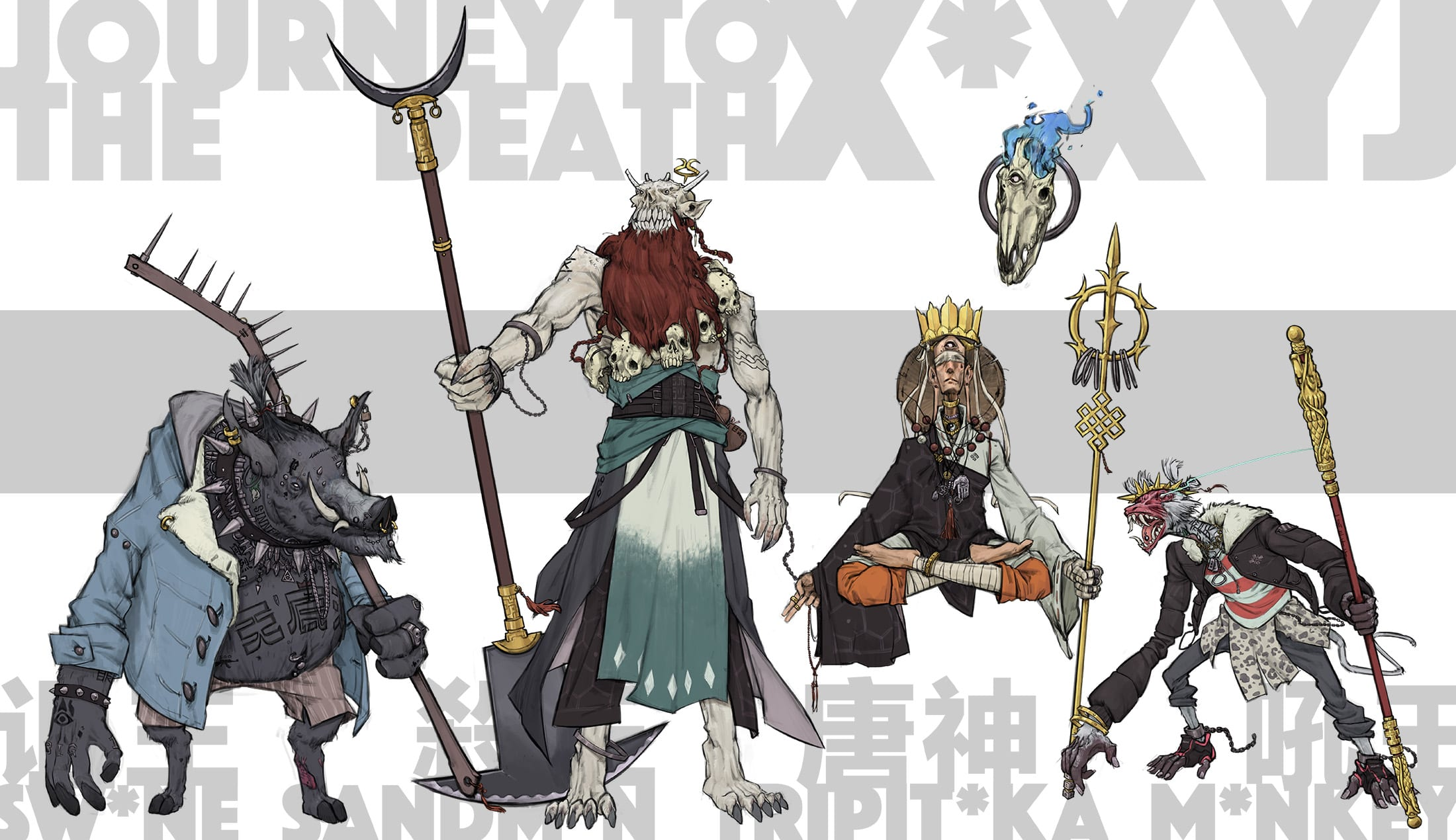 character design by ew.