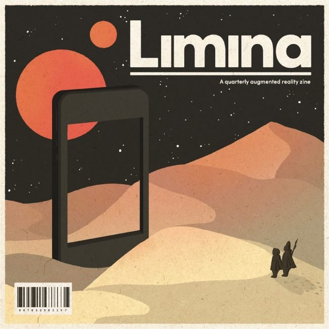 Front cover of Limina Magazine