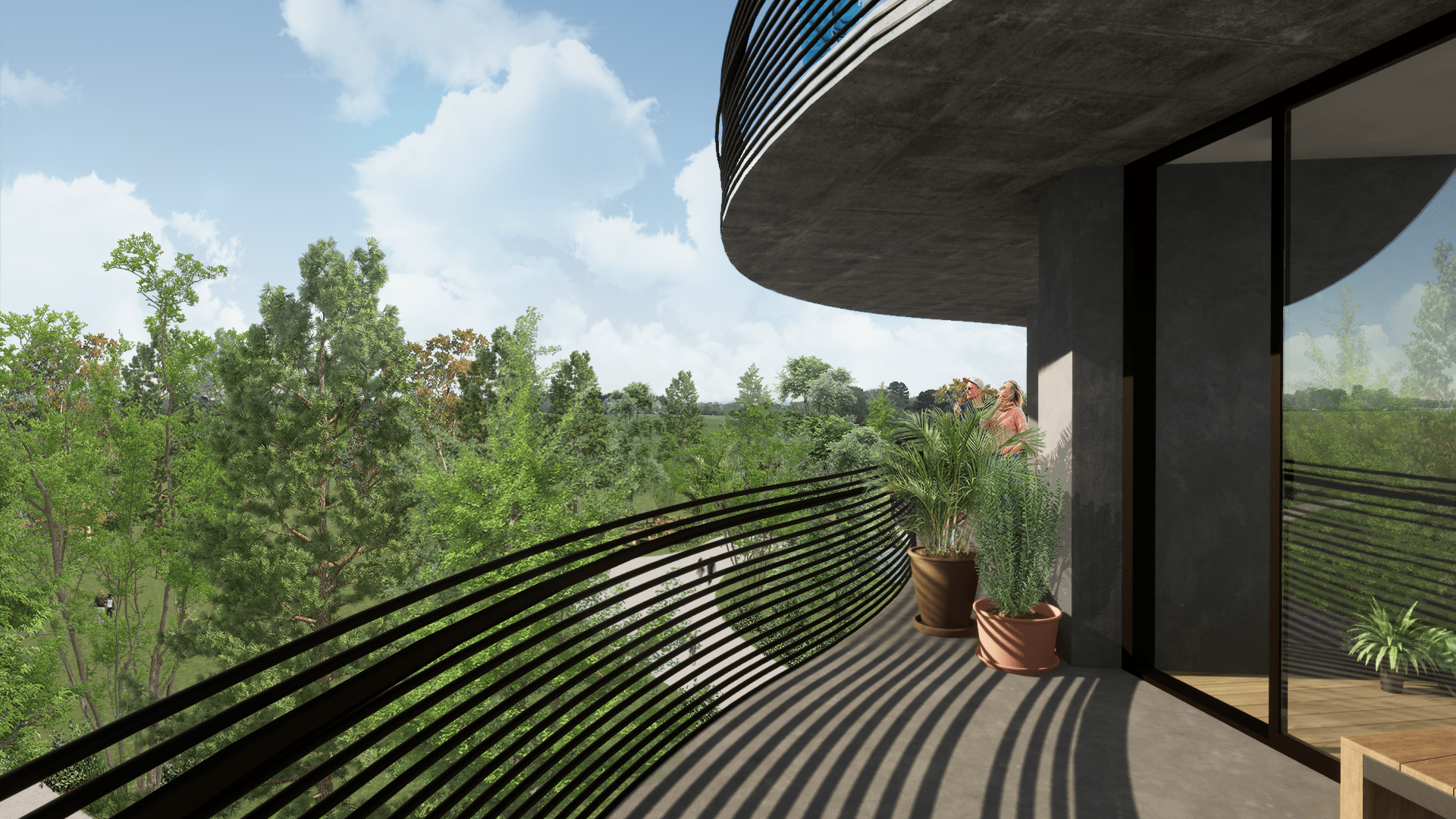 The Hive Balcony